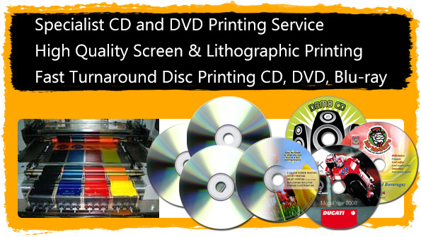 CD Printing and DVD Printing